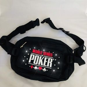 WSOP Fanny Pack adorned with Swarovski Crystals